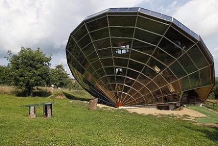 Poze Haioase - Heliodomul, casa solara bio-climatica de langa Strasbourg, Franta
