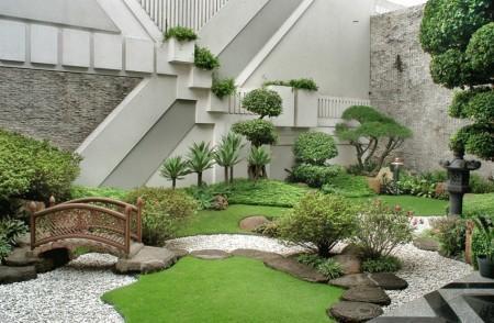 Poze Gradina de flori - Amenajare gradina asiatica