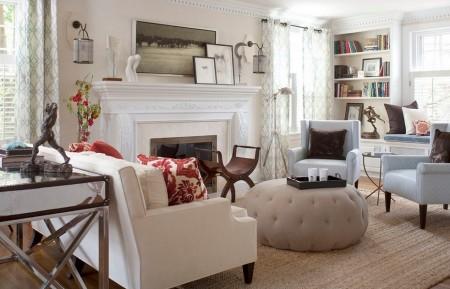 Poze Living - Eleganta si caldura stilului clasic