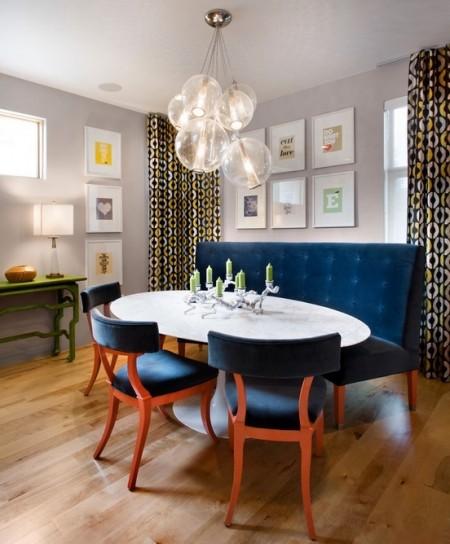 Poze Sufragerie - Loc de servit masa elegant si intim deopotriva