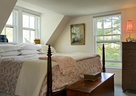 Poze Dormitor - Imagini amenajare dormitor traditional Smith Vansant Architects