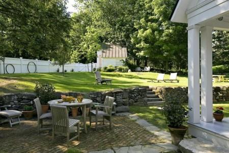 Poze Gradina de flori - Imagini amenajare gradina, peluza, terasa