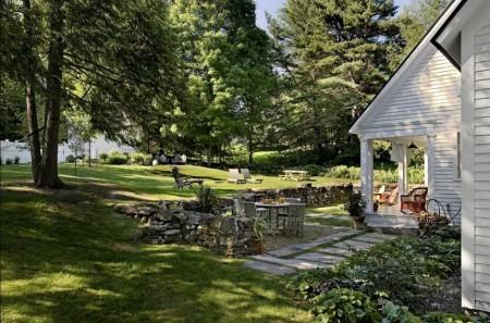 Poze Gradina de flori - Amenajare gradina, peluza, terasa