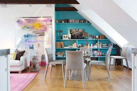 Poze Sufragerie - Zona de servit masa intr-un apartament modern