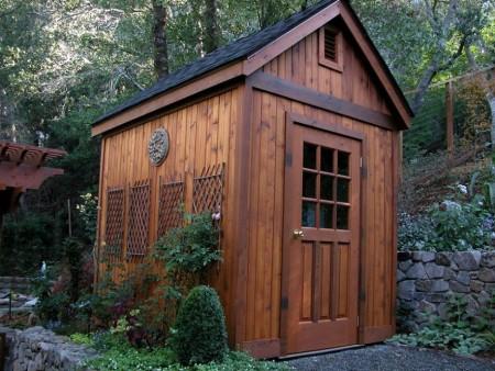 Poze Case lemn - Casuta din lemn pentru gradina