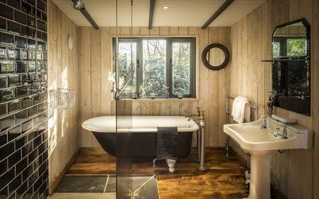 Poze Baie - Baie cu un design interior clasic