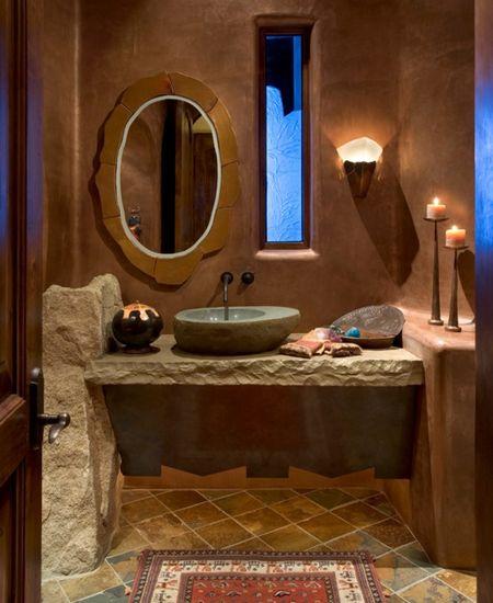 Poze Baie - Stilul rustic a capatat valente moderne in aceasta superba baie