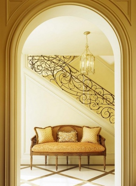Poze Scari - Dantelarie din fier forjat pentru balustrada