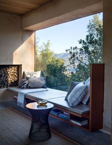 Poze Living - Bancuta moderna la fereastra, locul preferat din casa