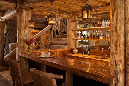 Poze Bar - Bar superb amenajat intr-o cabana din lemn