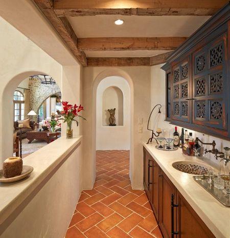 Poze Bar - Stilul mediteranean, la fel de fermecator si pentru barul de acasa