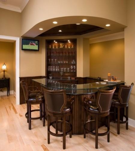 Poze Bar - Un colt al livingului a fost dedicat unui superb bar clasic