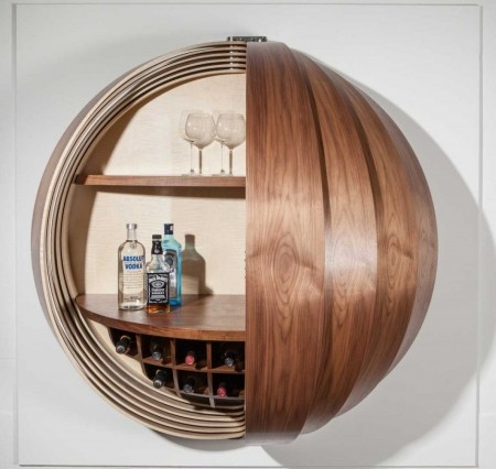 Poze Mobila si mobilier - O idee cu totul inedita pentru barul de acasa