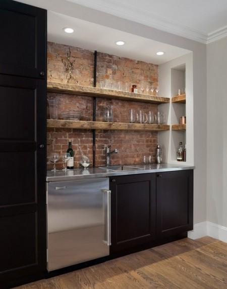 Poze Bar - O solutie minimalista dar eleganta pentru barul de acasa