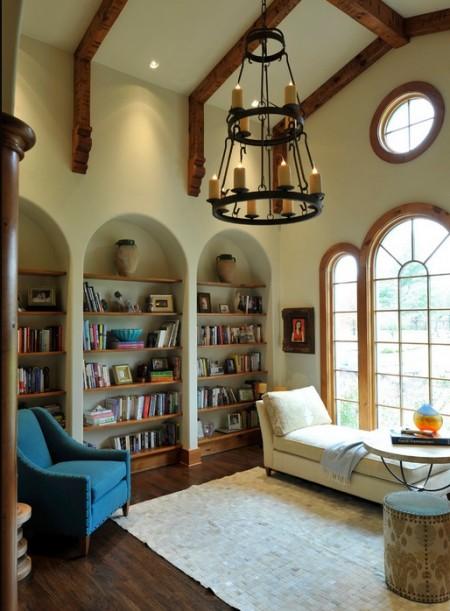 Poze Birou si biblioteca - Un loc perfect unde sa te retragi cu o carte