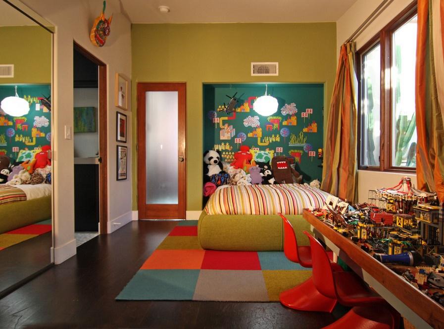 Cromatica vesela pentru camera copiilor