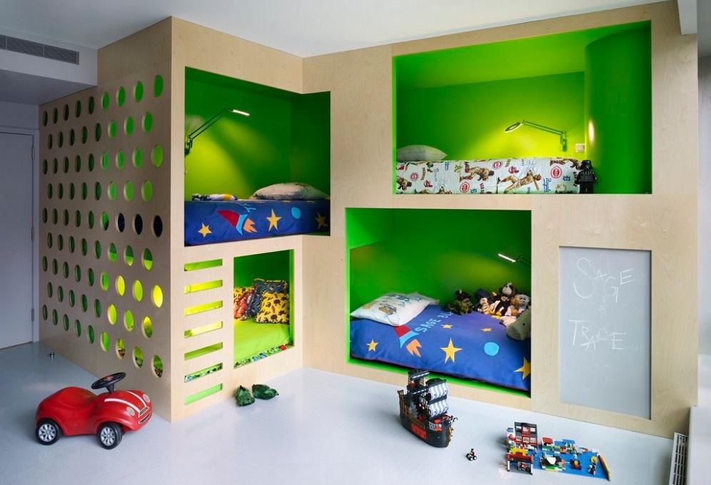 Amenajare moderna camera copii