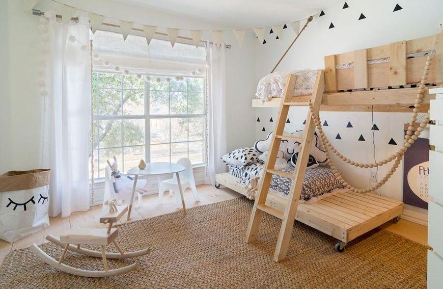 Amenajare moderna pentru camera copiilor