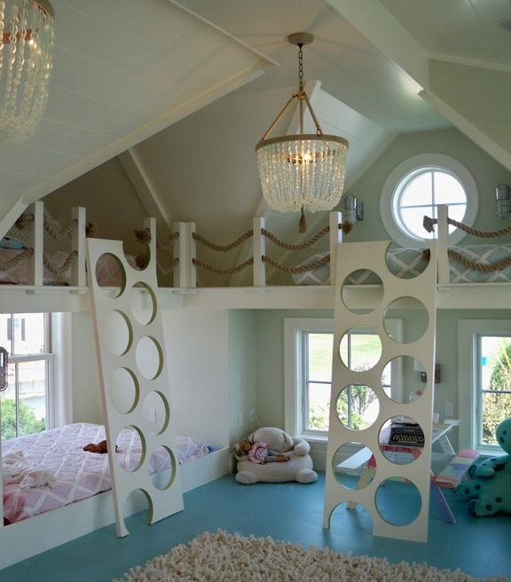Camera impartita de mai multi copii