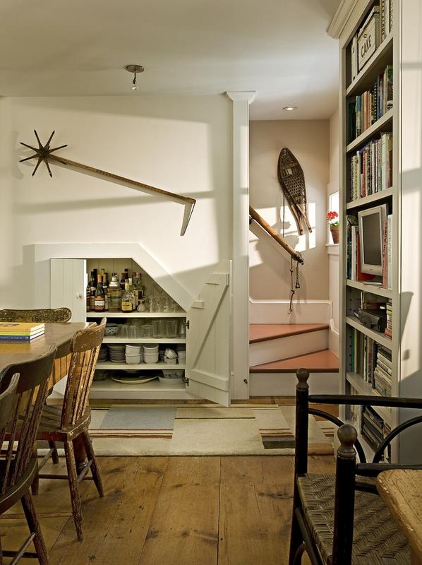 Imagini amenajare dining traditional Smith Vansant Architects