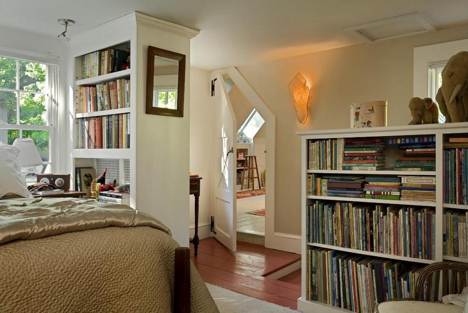 Amenajare dormitor traditional Smith Vansant Architects