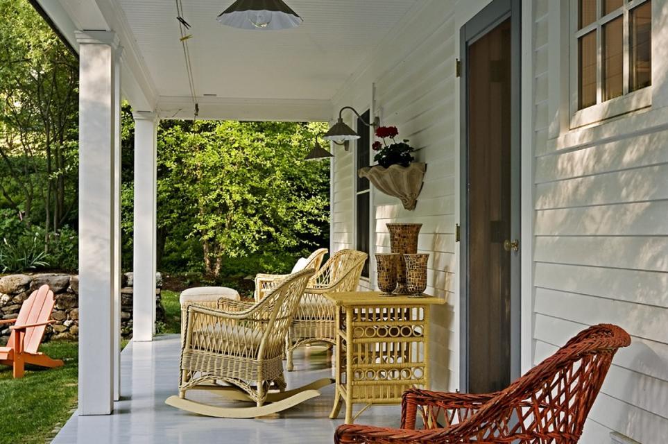 O veranda pentru momente de relaxare