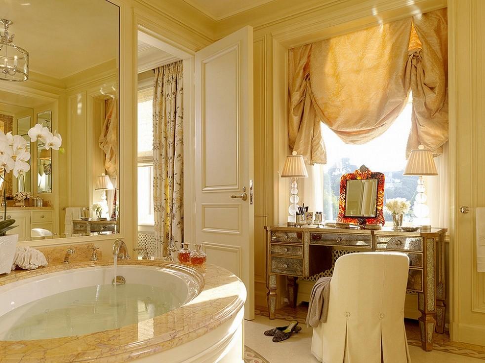 Baie decor clasic opulent