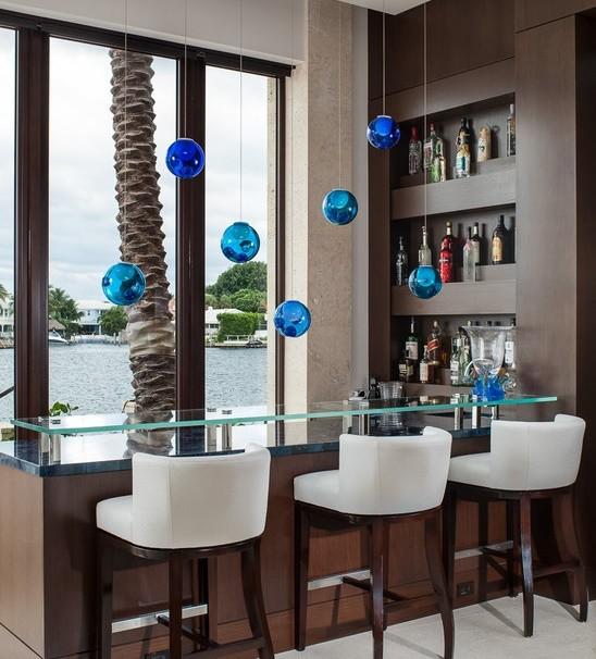 Bar modern acasa.