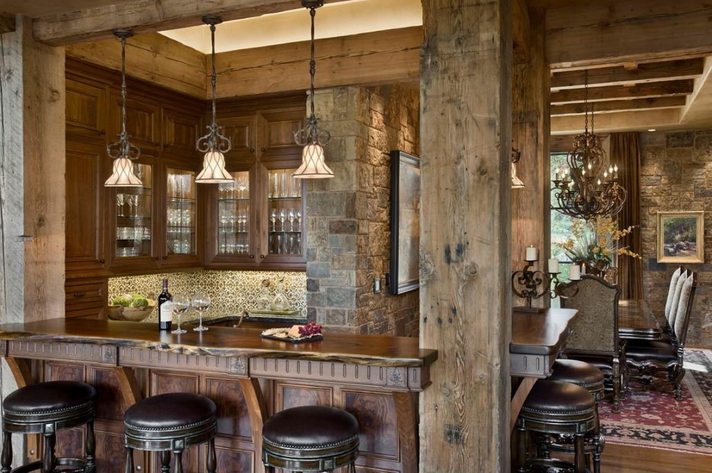 Amenajare bar rustic