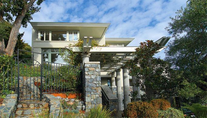 Imagine fatada Belvedere Avenue, Sutton Suzuki Architects