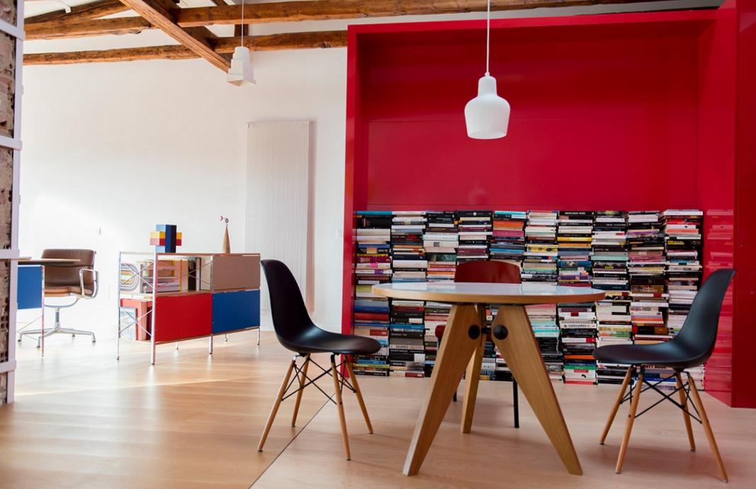 Mobila biblioteca moderna si ieftina