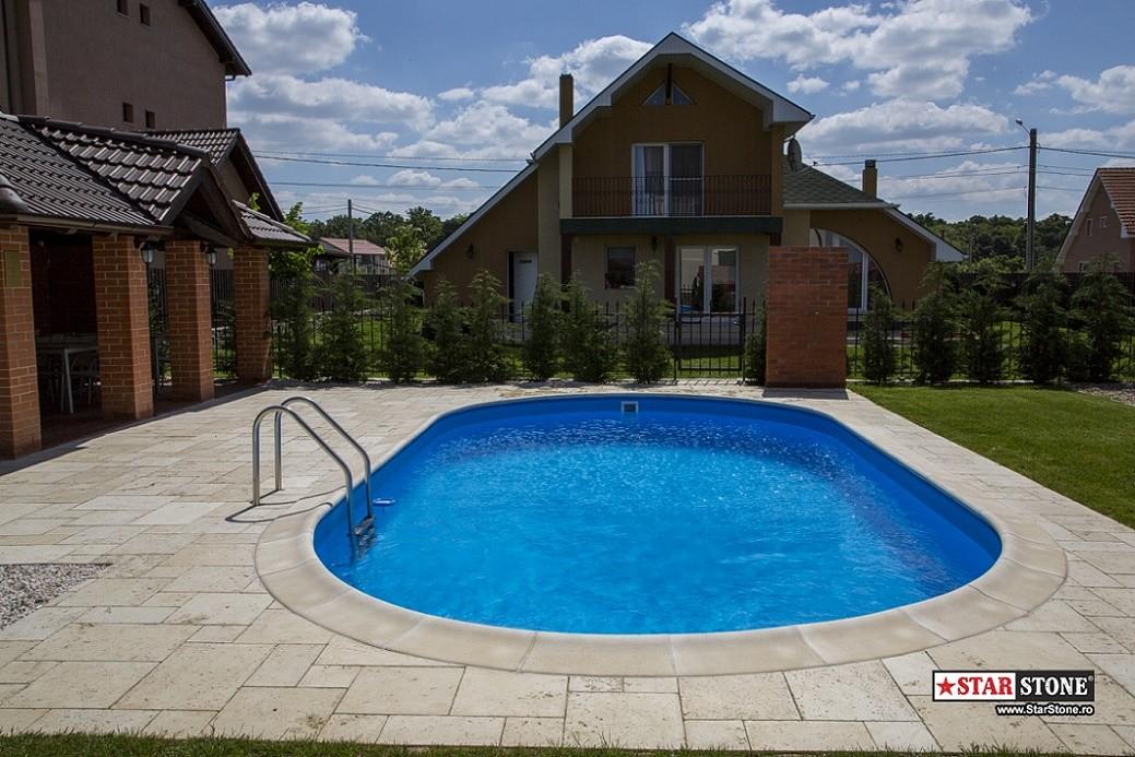 Borduri speciale pentru piscina