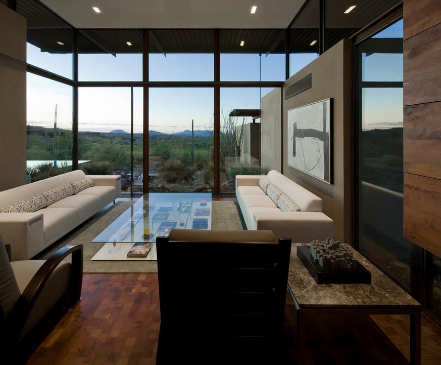 Amenajare zona de zi moderna for Zona living moderna