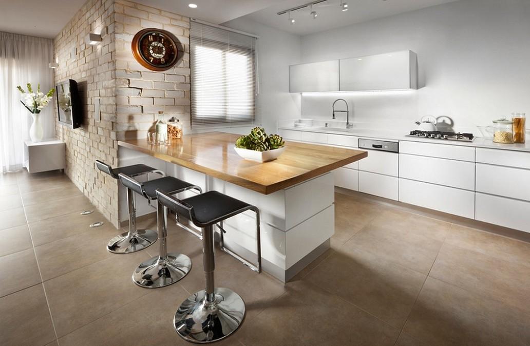 Bucatarie apartament modern