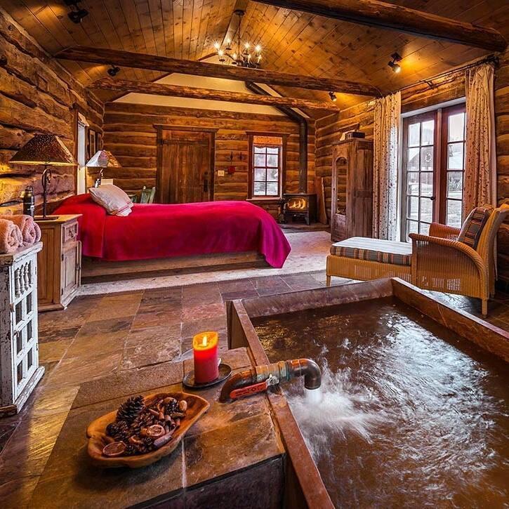 Cabana lemn