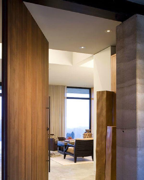 Imagine amenajare intrare - Caretaker's Residance, Aidlin Darling Design