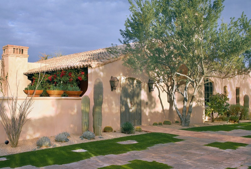Casa in stil mexican