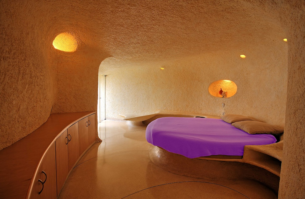 Dormitorul matrimonial al Casei Nautilis