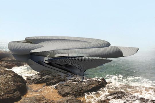 Casa hidroenergetica, o locuinta futurista