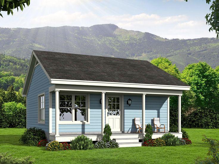 Casa mica cu veranda