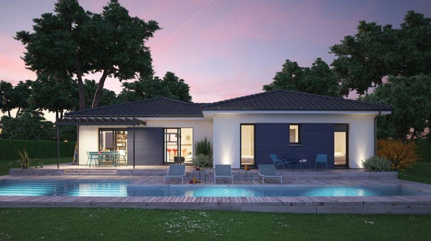 Casa moderna cu terase si piscina for Casa moderna romania