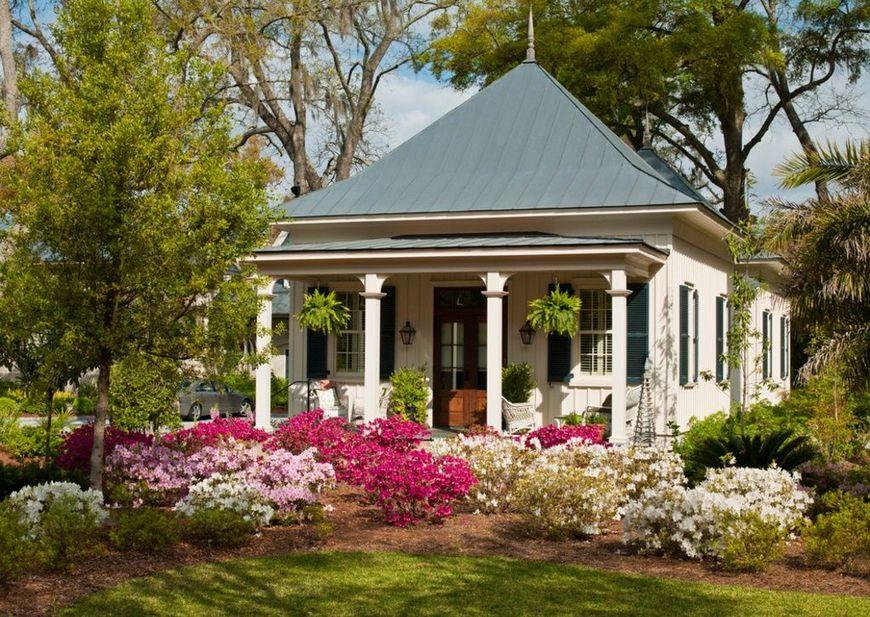 Casa cu gradina frumoasa