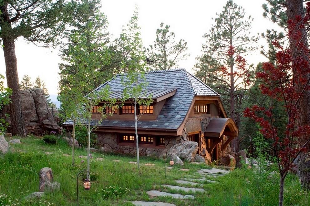 Casa rustica din piatra