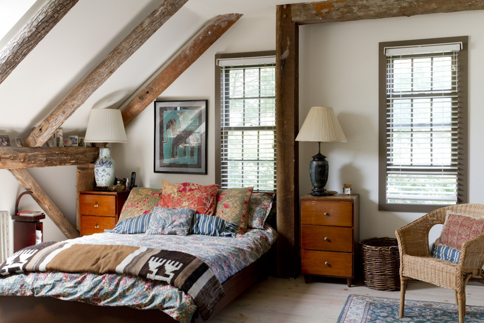 Amenajarea dormitorului casei de la tara