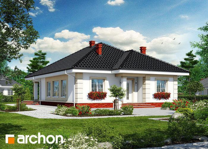 Casa cu trei dormitoare, doar parter, cu  podul care poate fi transformat in spatiu locuibil