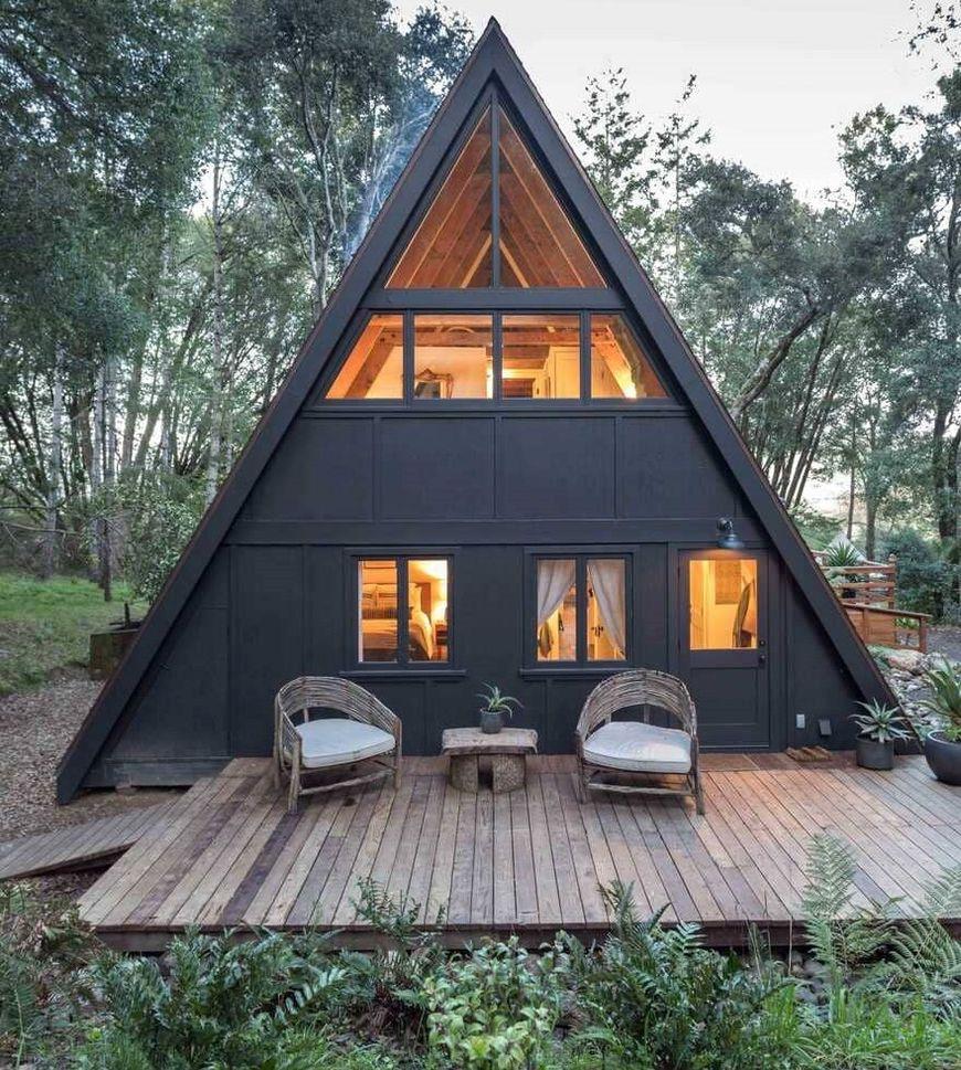 Terasa casa din lemn