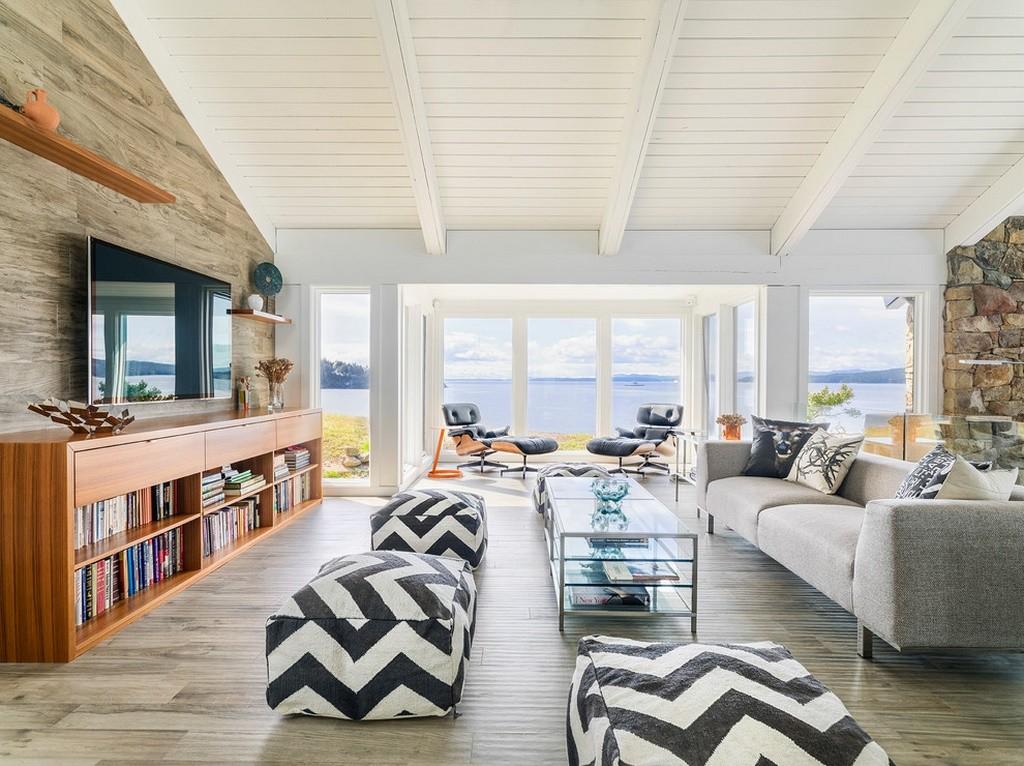 Living modern casa de vacanta