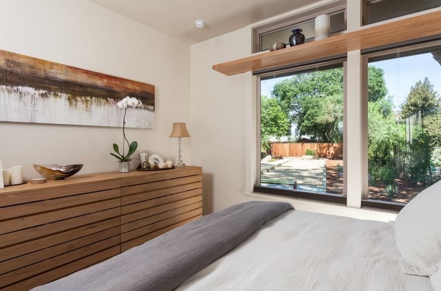 Dormitor decorat modern
