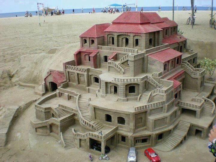 Castelul din nisip