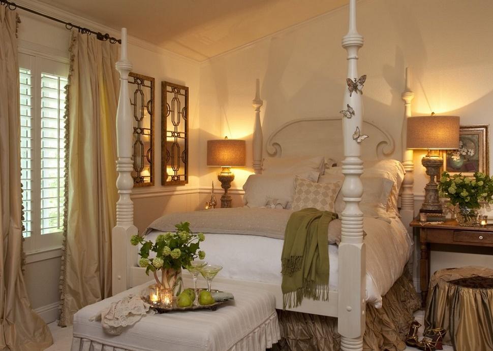 Decor romantic in dormitor